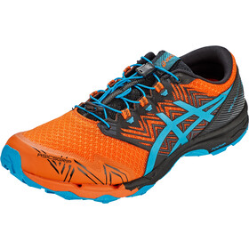 asics Gel-Fuji Trabuco Sky Shoes Men, naranja/azul